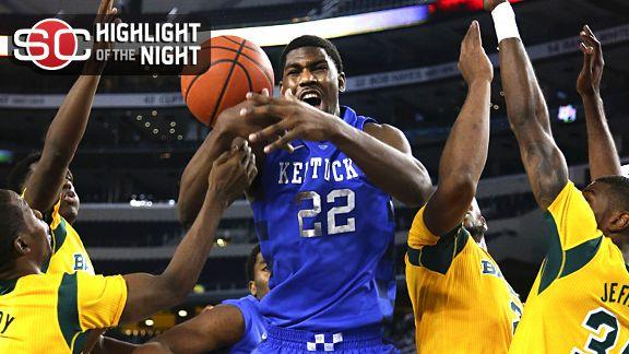 Baylor Upsets No. 3 Kentucky