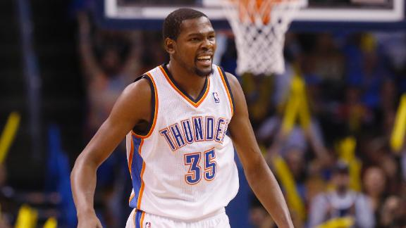 Thunder dismiss Pacers behind Durant's 36