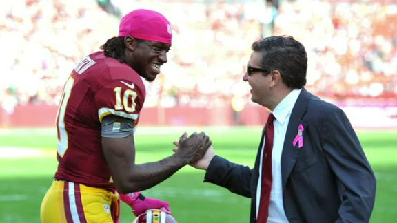 Shanahan Unhappy With RG III- Snyder