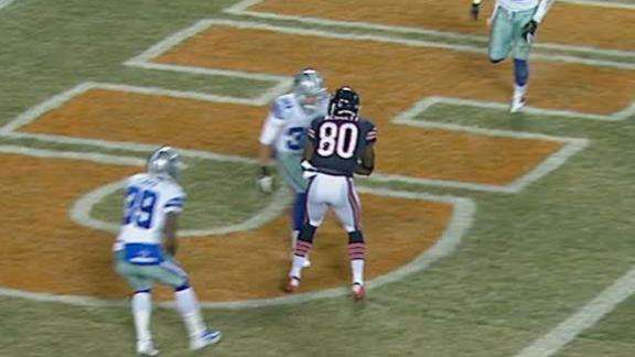 Video - Bears and Cowboys Tied After 1st Quarter