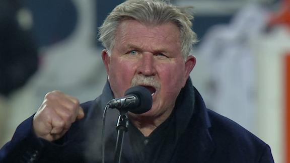 Video - Bears' Retire Ditka's Number