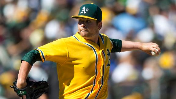 Colorado acquires LHP Anderson from A's