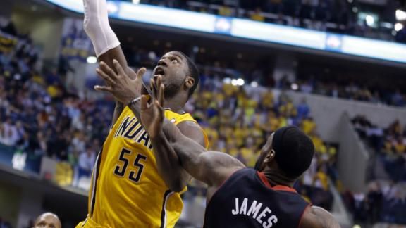 Pacers shake early deficit to turn down Heat