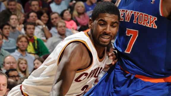 Irving, Jack guide Cavs past sinking Knicks