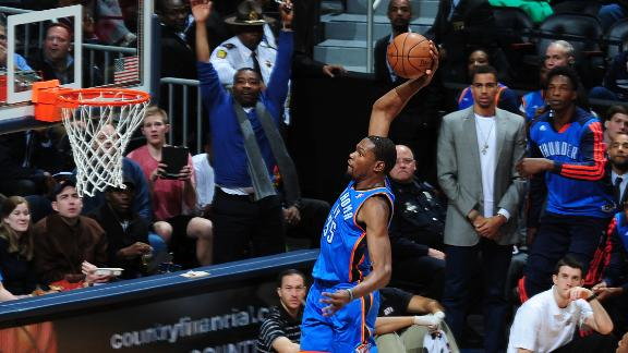 Video - Durant Drops 30 In Thunder's Win
