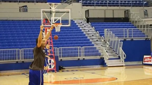 Jayhawks Make Four Half-Court Shots