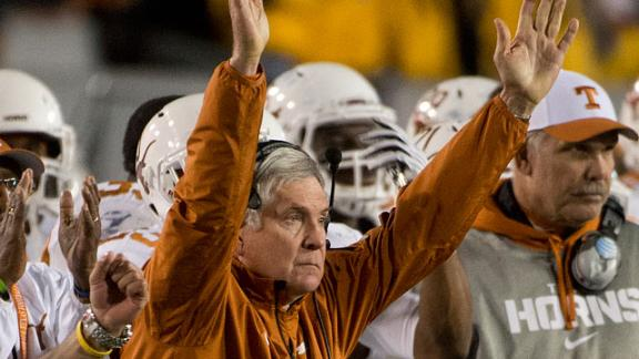 Texas Ex Acho Comments on Mack Brown Reports