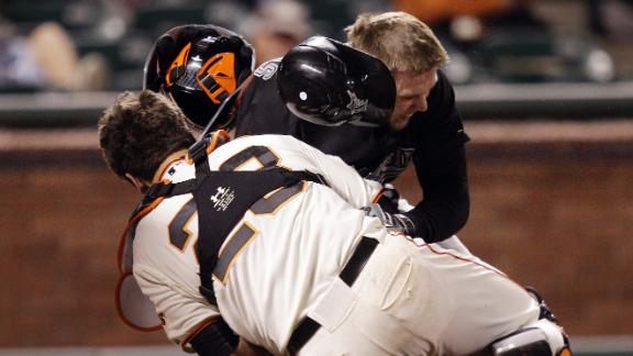 MLB plans to ban home plate collisions by '15