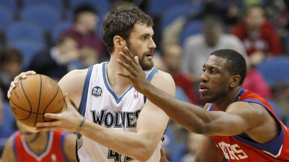 Video - Timberwolves Rally Past 76ers