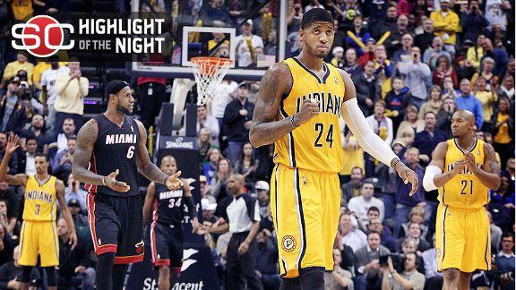 Pacers Take Down Heat