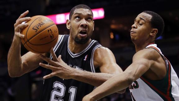 Spurs Cruise Past Bucks