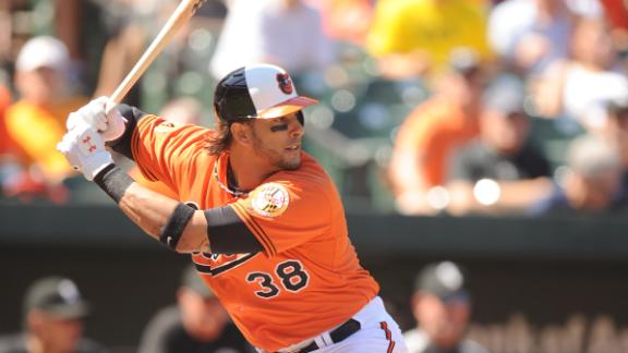 Morse agrees to 1-year contract with Giants