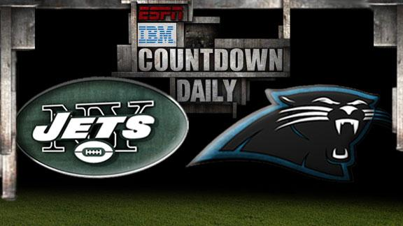 Video - Countdown Daily Prediction: NYJ-CAR
