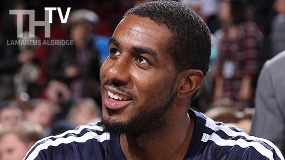 Video - LaMarcus Aldridge's Big Leap Forward