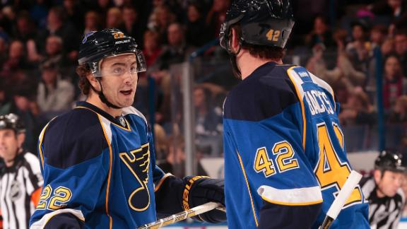 Blues Pick Up 21st Win Of Season