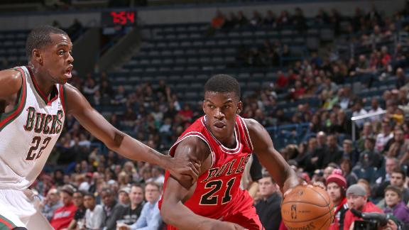 Video - Bulls Edge Bucks In Butler's Return