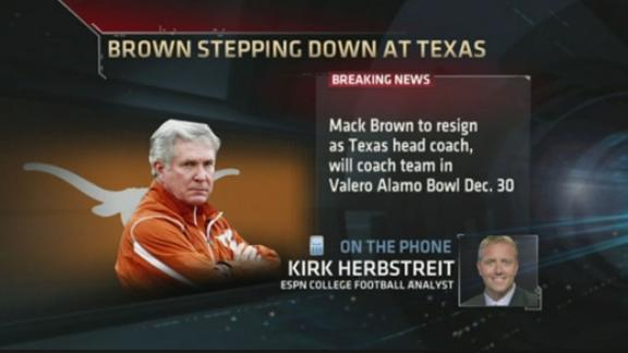 Kirk Herbstreit on Mack Brown's resignation