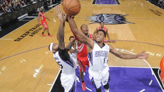 Video - Gay, Cousins Fuel Kings Past Rockets