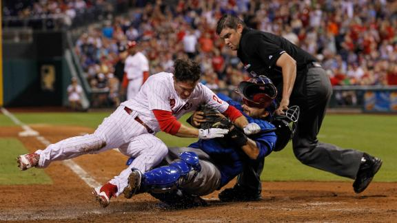 Not all catchers like proposed collision rule