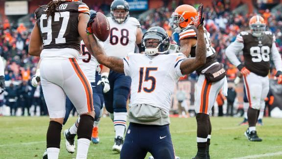 Cutler's 3 TDs help Bears beat Browns