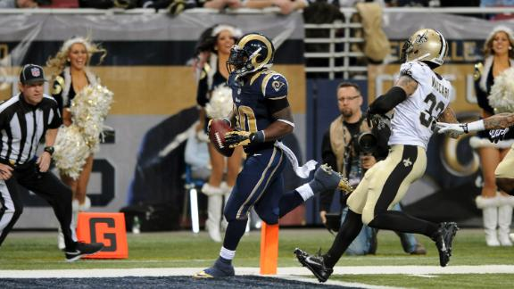 Video - Rams Roll Over Saints