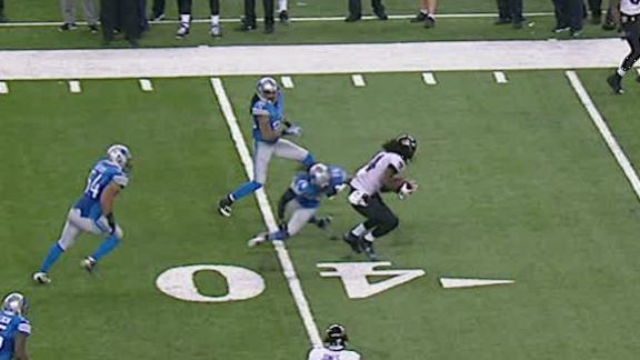 Tucker's 61-yard FG boots Ravens by Lions