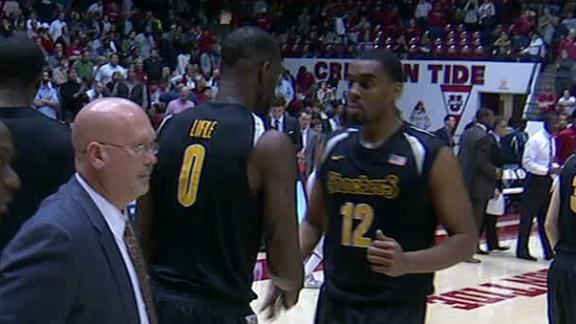 Wichita State Holds Off Alabama