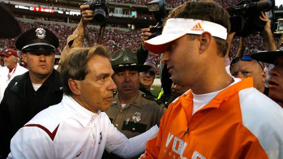 Saban: Kiffin Visit For An Idea Session