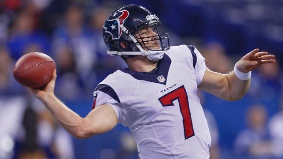 Texans put RB Tate on IR; QB Keenum out