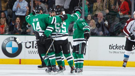 Video - Stars Sneak Past Avs