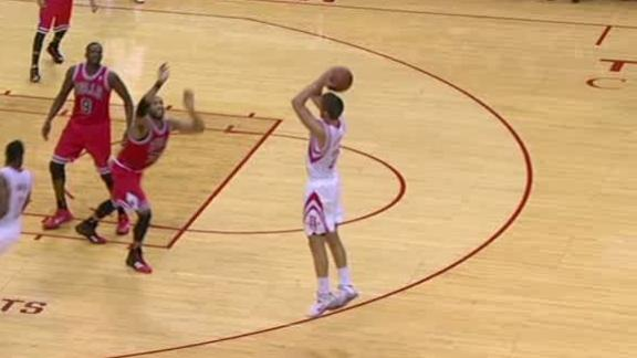 Video - Parsons puts Rockets up 10