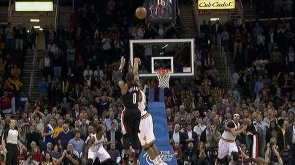 Lillard Nets Game-Winning 3