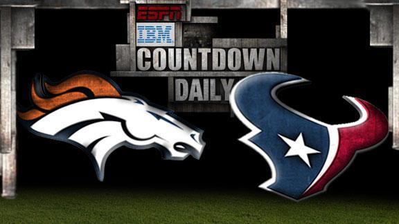 Video - Countdown Daily Prediction: DEN-HOU