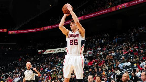 Video - Korver's 3s Lead Hawks Past Kings