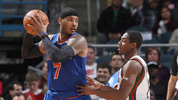 Knicks outlast NBA-worst Buck