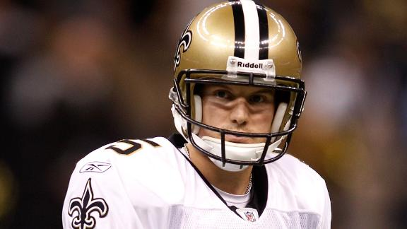 Saints shake-up: Rookie in at LT, new kicker
