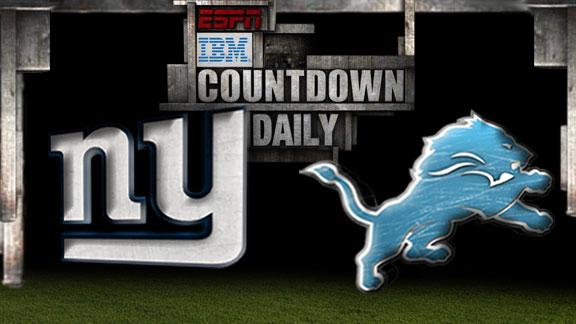Countdown Daily Prediction: NYG-DET