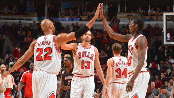 Chicago Bulls not seeking trade for Luol Deng