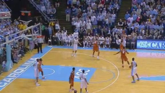 Texas Edges #14 Tar Heels 86-83