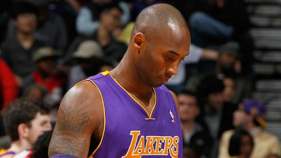 NBA: Clock ticking even faster for Kobe Bryant