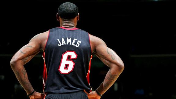 LeBron atop newest list of NBA jersey sales
