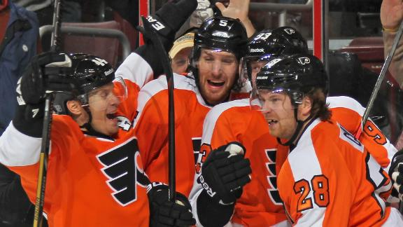 Video - Flyers Rally To Top Blue Jackets