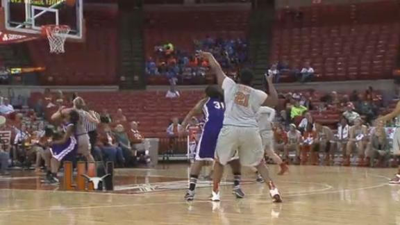 Texas Routs Northwestern St., 90-60
