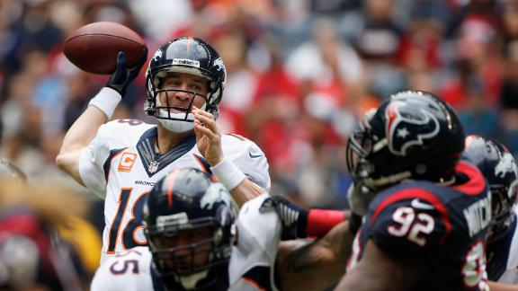 Video - Peyton Sets TD Mark As Broncos Clinch AFC West