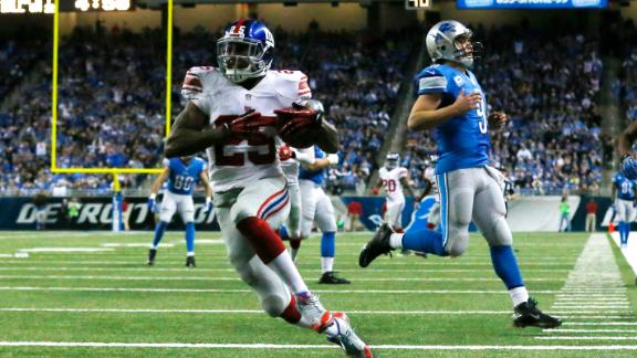 Video - Giants Eliminate Lions From Contention