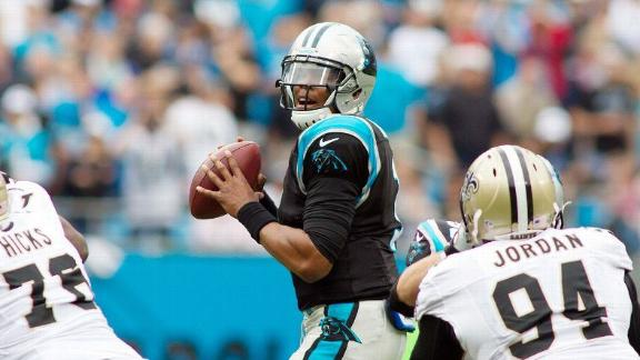 Panthers clinch playoff spot on Cam's late TD