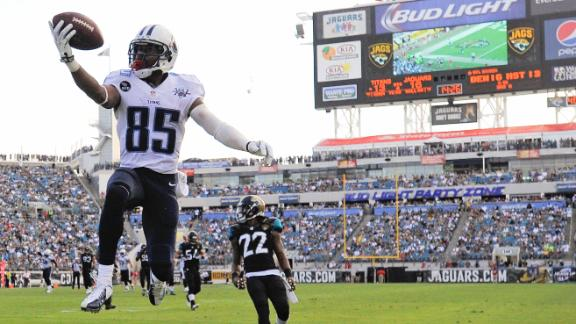 Video - Titans Top Jaguars, End Three-Game Skid