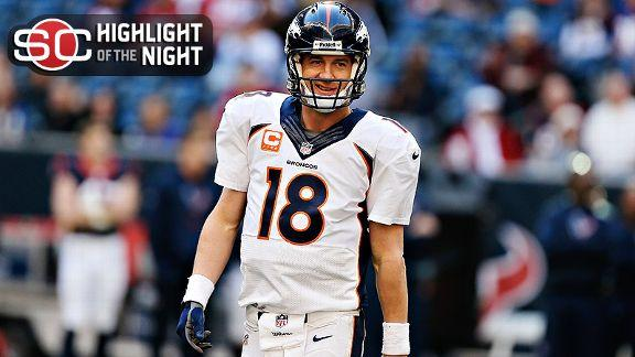 Video - Peyton Sets TD Mark As Broncos Clinch