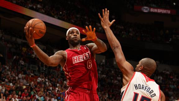 Video - LeBron, Heat Survive In Overtime
