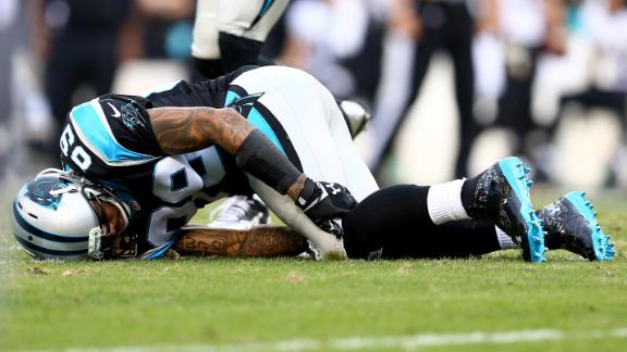 Panthers' Smith 'doubtful' with knee sprain